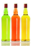 Colourful Alcoholic Beverage Royalty Free Stock Images