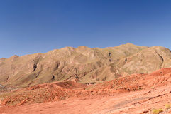The colourful Andes in Bolivia Stock Photo