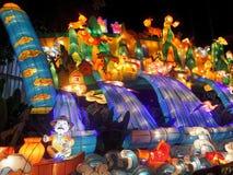 Colourful animacja lampion obrazy royalty free