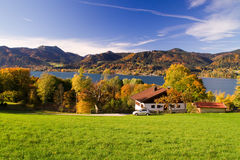 Colourful autumn in bavaria Stock Photography