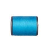 Colourful błękitna nić odizolowywająca na bielu Obrazy Stock