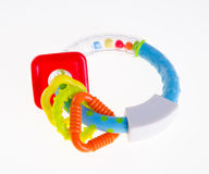 Colourful baby toy on the background Royalty Free Stock Photo
