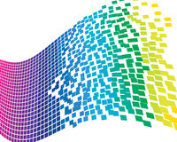Colourful background. Abstract colourful business background for design use Stock Images