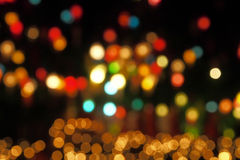 Colourful background of bokeh Stock Photos