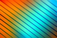 Colourful background of lines. Colourful lines in motion creating a background Stock Image