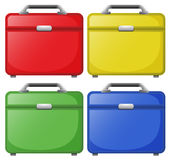 Colourful bags Stock Photography