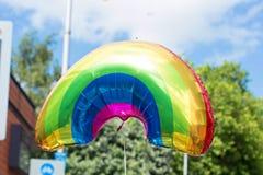 Colourful ballon on gay pride Royalty Free Stock Photo