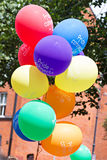 Colourful ballon on gay pride Stock Images