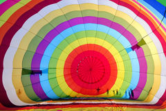 Colourful balloon inside Stock Photography