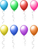 Colourful balloons Royalty Free Stock Photos