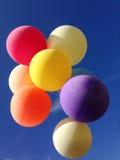 Colourful balloons Stock Photos