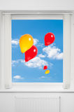 Floating Balloons Royalty Free Stock Images