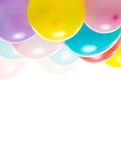 Colourful balloons Stock Photos