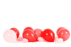 Colourful balloons isolated Royalty Free Stock Image