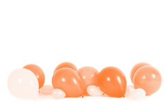 Colourful balloons isolated Stock Photography