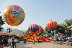 Colourful Balloons at Ocean Park Stock Images