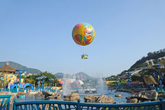 Colourful Balloons at Ocean Park Royalty Free Stock Photography