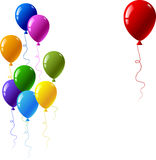 Colourful balloons Stock Image