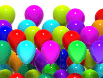 Colourful Balloons Show Party Celebration Or Stock Photos