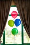 Colourful balonowa dekoracja Zdjęcia Stock