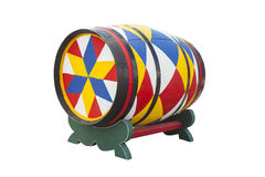 Colourful barrel Royalty Free Stock Photos