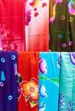 Colourful batik Obrazy Stock