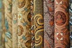 Colourful Batik stock images