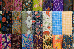 Colourful Batik Stock Images