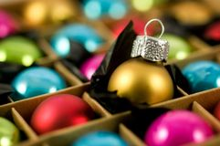 Colourful Baubles Stock Photos
