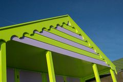 Colourful Beach Hut Royalty Free Stock Images