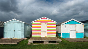 Free Colourful Beach Huts Royalty Free Stock Photography - 44944537