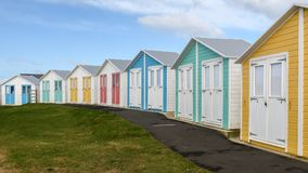 Colourful Beach huts Royalty Free Stock Image