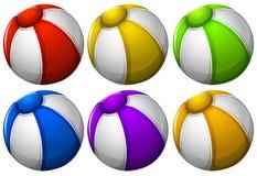 Colourful beachballs Royalty Free Stock Photo