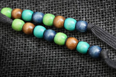 Colourful bead Royalty Free Stock Images