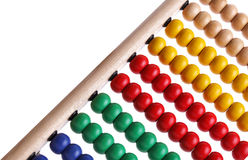 Colourful beaded abacus Stock Images