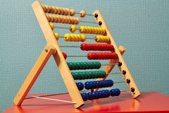Colourful Beaded Abacus Royalty Free Stock Photo