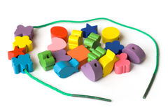 Colourful beads Stock Image
