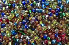 Colourful beads. Abstract background of olourful beads Stock Photos