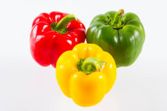 Colourful  bell pepper Royalty Free Stock Images