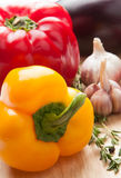 Colourful bell peppers Royalty Free Stock Image