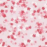 Colourful bezszwowy wzór z kwiatami dla dzieciaków, dzieci, dzieci ilustracji