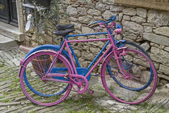 Colourful bikes Royalty Free Stock Photography