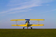 Colourful Biplane Royalty Free Stock Photo