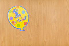 Colourful birthday party decoration Royalty Free Stock Image