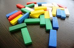 Colourful Blocks Royalty Free Stock Images