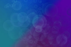 Colourful blue art Royalty Free Stock Images