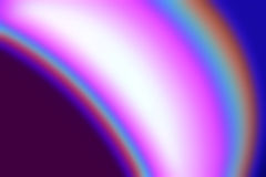 Colourful blur. A bright colorful abstract blur in mauves, pinks and blues Stock Images