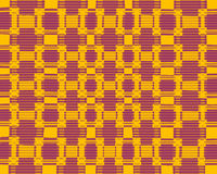 Colourful blurred chequered pattern Royalty Free Stock Images