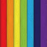 Colourful boards Background vector Illustration. Royalty Free Stock Images