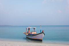 Colourful boat Royalty Free Stock Photography